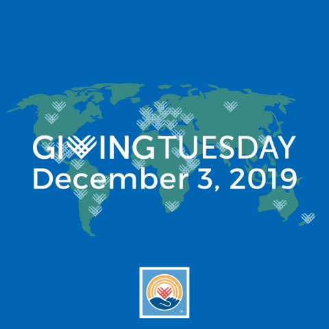 Giving Tuesday, December 3, 2019