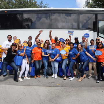 United Way of Broward County's Impact Bus Tour