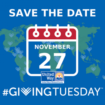 United Way of Broward County's Giving Tuesday
